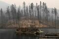 California osariigis lõõmab mitu maastikutulekahjut.