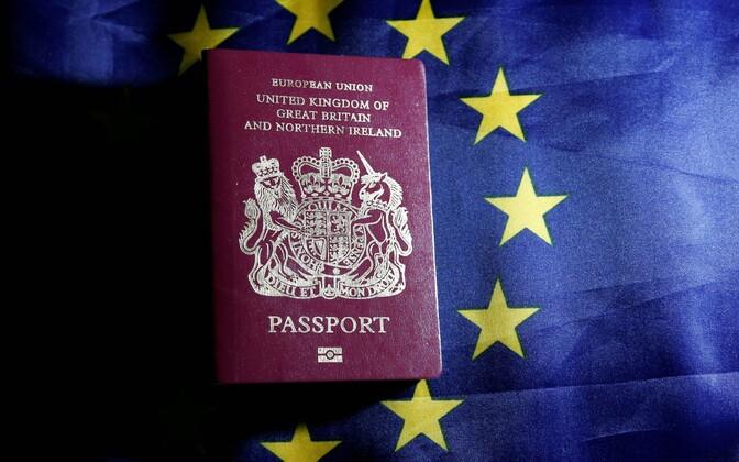 Euroopa Liidu pass.