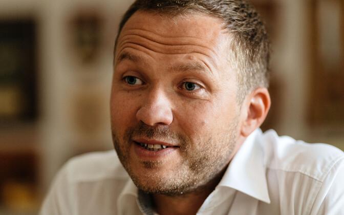 Margus Tsahkna on Eesti 200 esinumber Tartus.