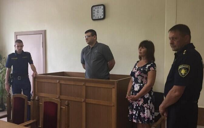 Istung Vidzeme ringkonnakohtus, süüdistatav Jurijs Stilve.