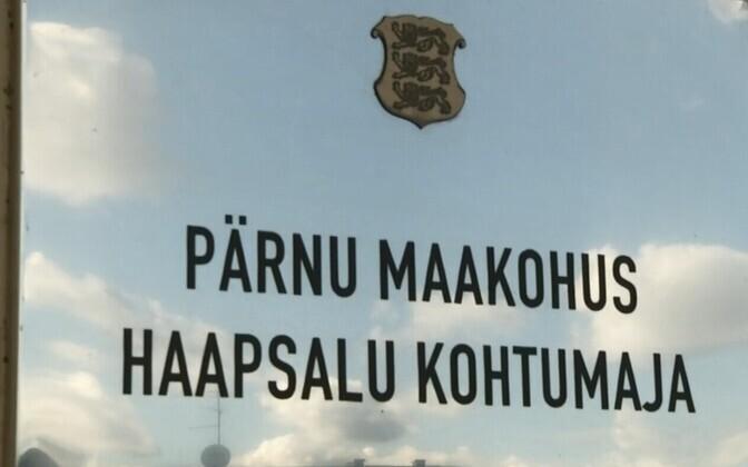 Pärnu maakohtu Haapsalu kohtumaja.