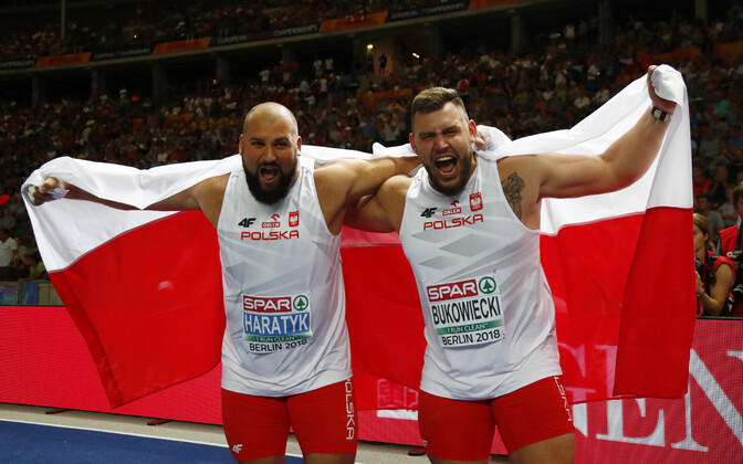 Konrad Bukowiecki ja Michal Haratyk