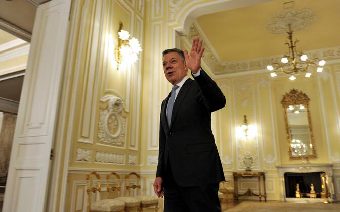 Colombia (nüüdeks juba endine) president Juan Manuel Santos.