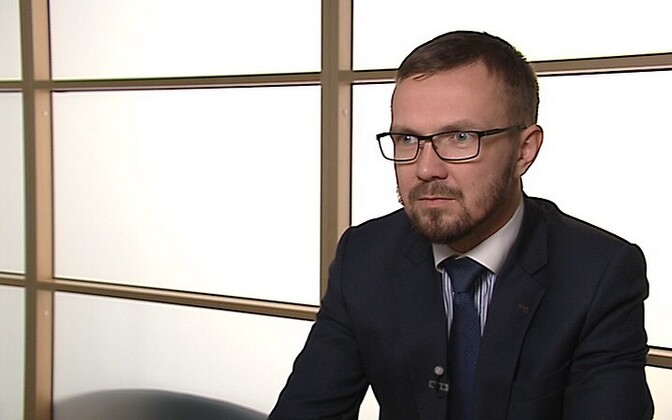 Sotsiaalministeeriumi asekantsler Rait Kuuse.