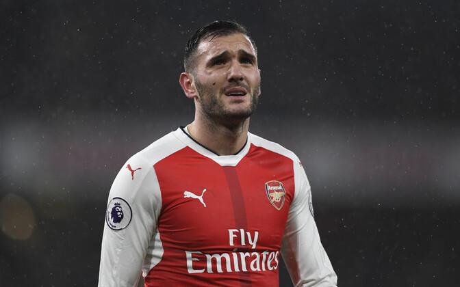 Lucas Perez Arsenali särgis.