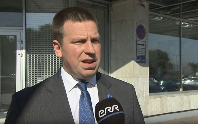 Centre Party Chairman and Prime Minister Jüri Ratas commenting on the Narva City Council corruption scandal on Friday. 10 August 2018.