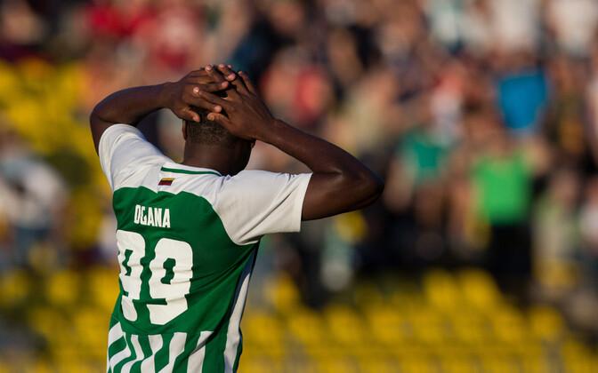 Vilniuse Žalgiris jäi võõrsil vaid 1:0 alla Sevillale