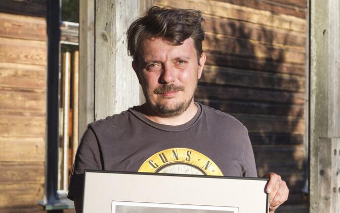 Jaanis Valk kolleegipreemiaga Doki Kild.