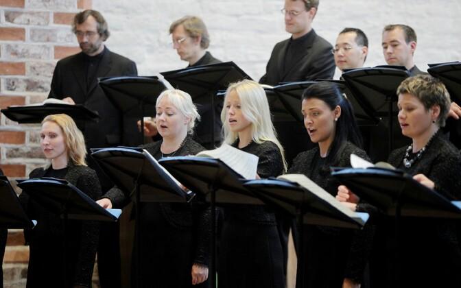 Eesti filharmoonia kammerkoor.