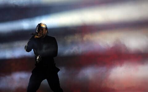 Kendrick Lamaril on räpimehe uhkust, aga sellesse sekkub väga huvitaval moel kristlik alandlikkus- ja süütunne. Pildil Kendrick Lamar esinemas 2017. aasta Coachella festivalil.