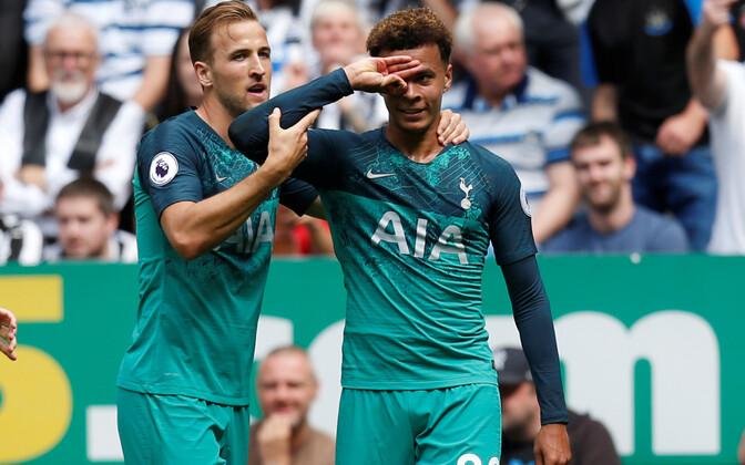 Dele Alli (paremal) lõi Tottenhami võiduvärava.