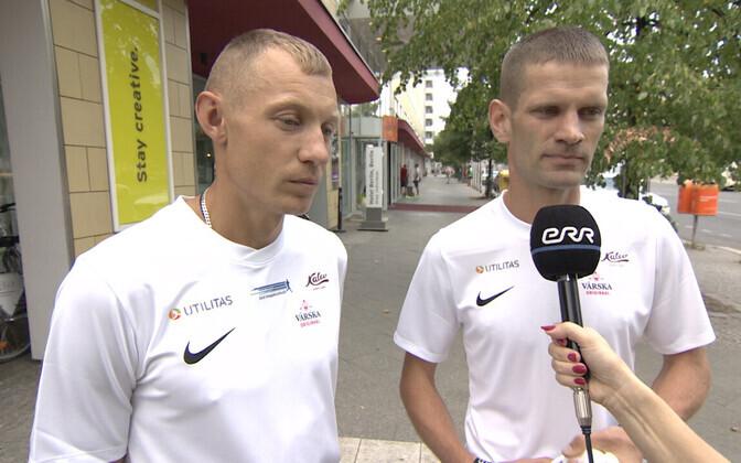Roman Fosti ja Tiidrek Nurme.