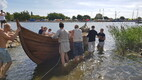 Kuressaares veeskati viikingilaev.