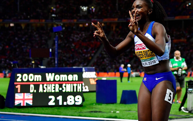 Dina Asher-Smith.