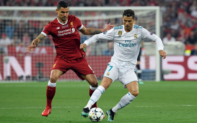 Dejan Lovren ja Cristiano Ronaldo Meistrite liiga finaalis.