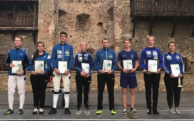 Valge Daami turniiril võidutsesid Gaia-Marianna Salm (Tallinna Mõõk) ja Ruslan Eskov (Tartu Kalev).