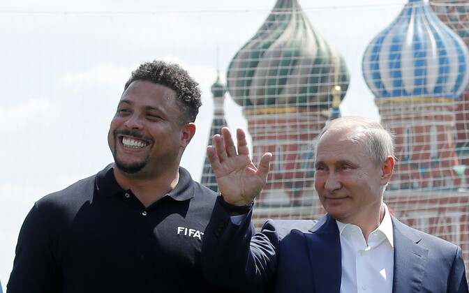 Ronaldo ja Vladimir Putin