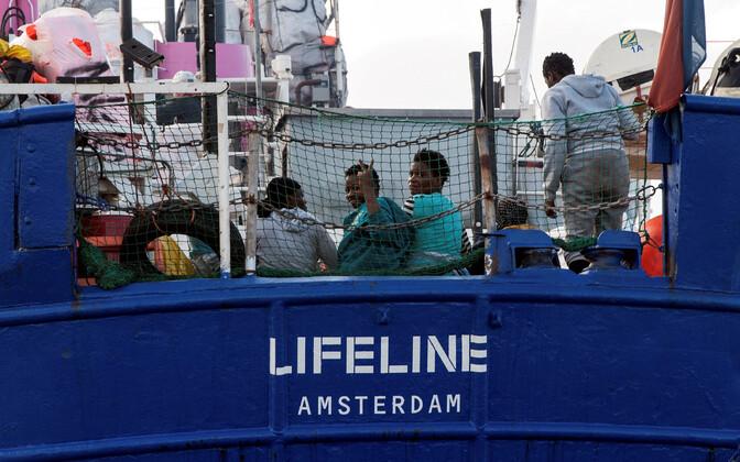Спасательное судно Lifeline.