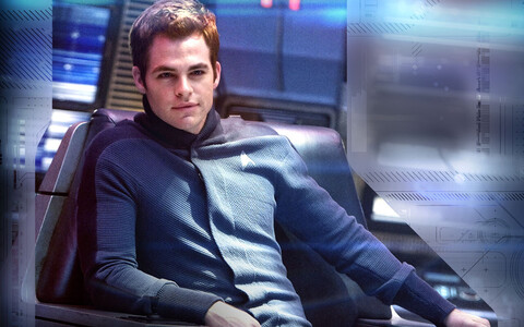 "Chris Pine filmis ""Star Trek"""