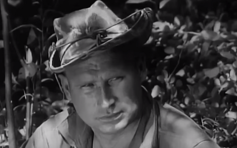 Jyri Laats as he appeared in the 1963 US Army promotional movie 'Guerilla USA'.