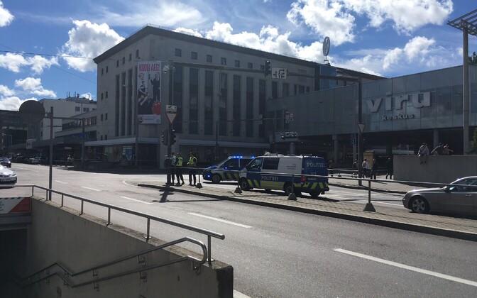 Pommiähvardus Tallinki hotellis.