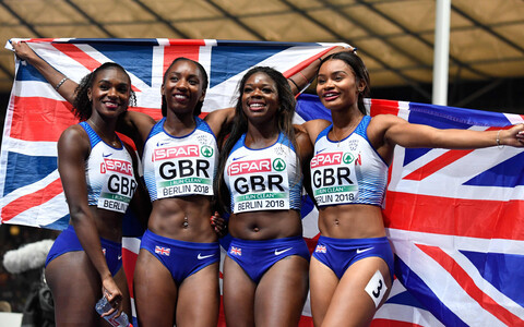 Suurbritannia 4x100 meetri jooksu teatenaiskond