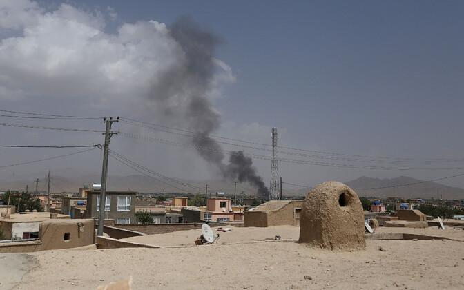 Sõjategevus Afganistanis Ghazni linnas.