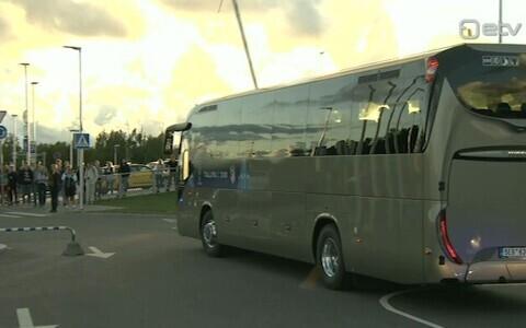 Madridi Atletico buss