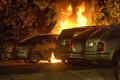 Массовый поджог автомобилей в Швеции.