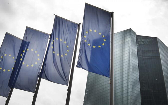 Euroopa Keskpank (ECB) Frankfurdis.
