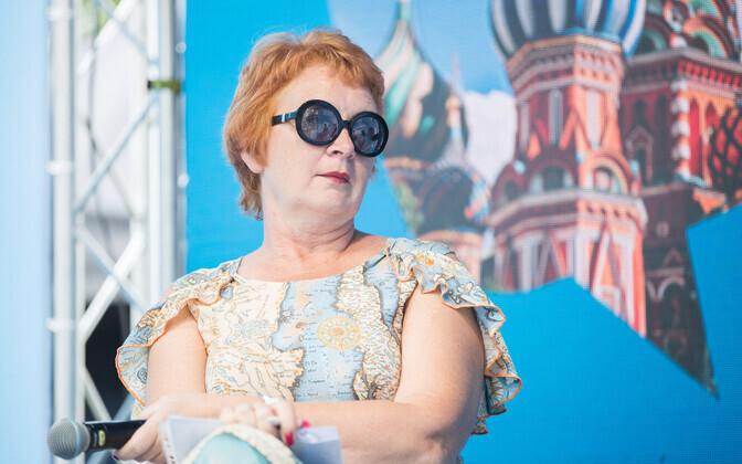 Yana Toom Paides arvamusfestivalil.
