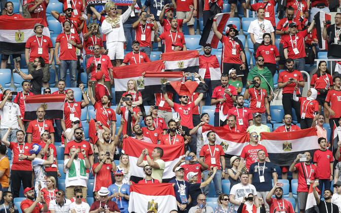 Egiptuse toetajad jalgpalli MM-il
