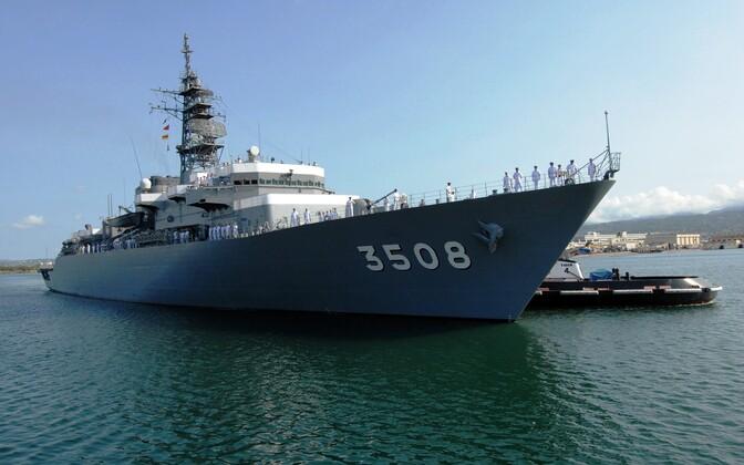 Jaapani sõjalaev Kashima, arhiivifoto.