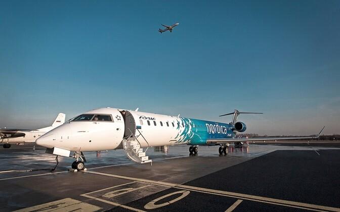 Обслуживать маршрут в Швеции будет самолет Nordica CRJ900.