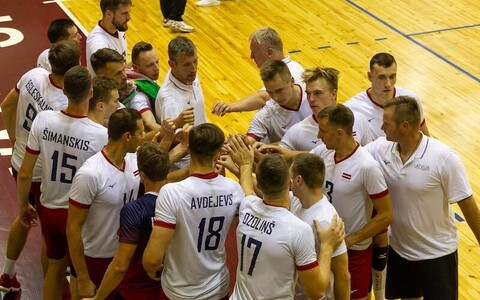 Avo Keel ja Läti võrkpallikoondis