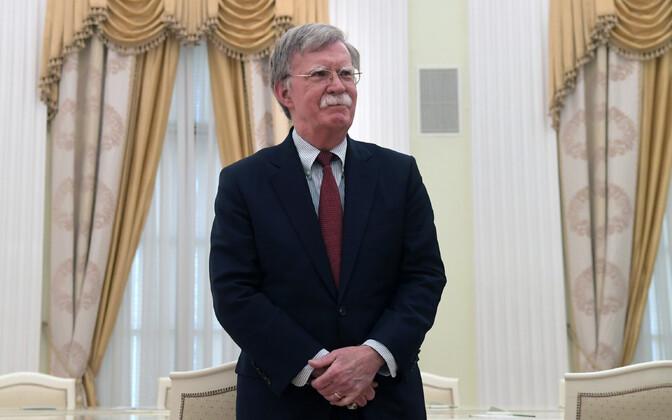 USA rahvusliku julgeoleku nõunik John Bolton 27. juunil Moskvas.