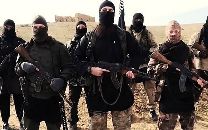ISIS-e võitlejad, arhiivifoto.