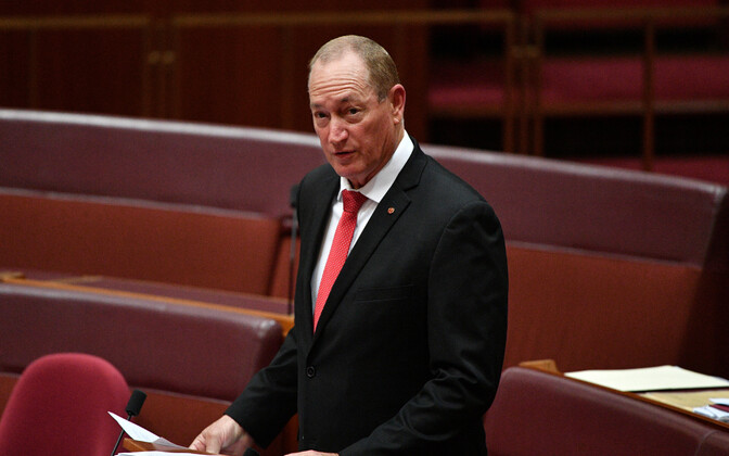 Austraalia senaator Fraser Anning.
