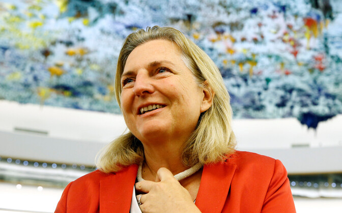 Министр иностранных дел Австрии Карин Кнайсль.