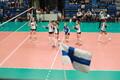 Эстонские волейболистки уступили Финляндии.
