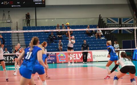 Naiste võrkpalli EM-valikmäng Eesti - Soome