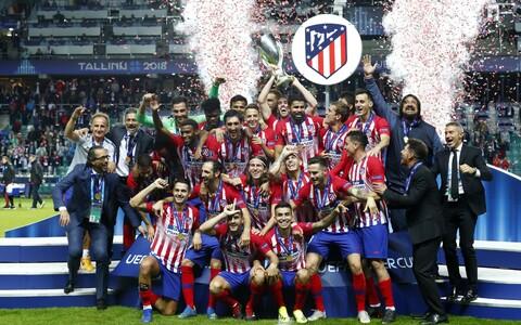 Madridi Atletico võitis Tallinnas UEFA Superkarika