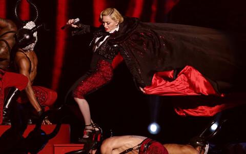 Madonna 2015. aastal Londonis