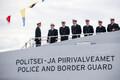 Церемония приема судна Raju Департаментом полиции и погранохраны.