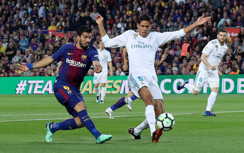 Barcelona ja Madridi Reali vaheline Hispaania kõrgliiga kohtumine