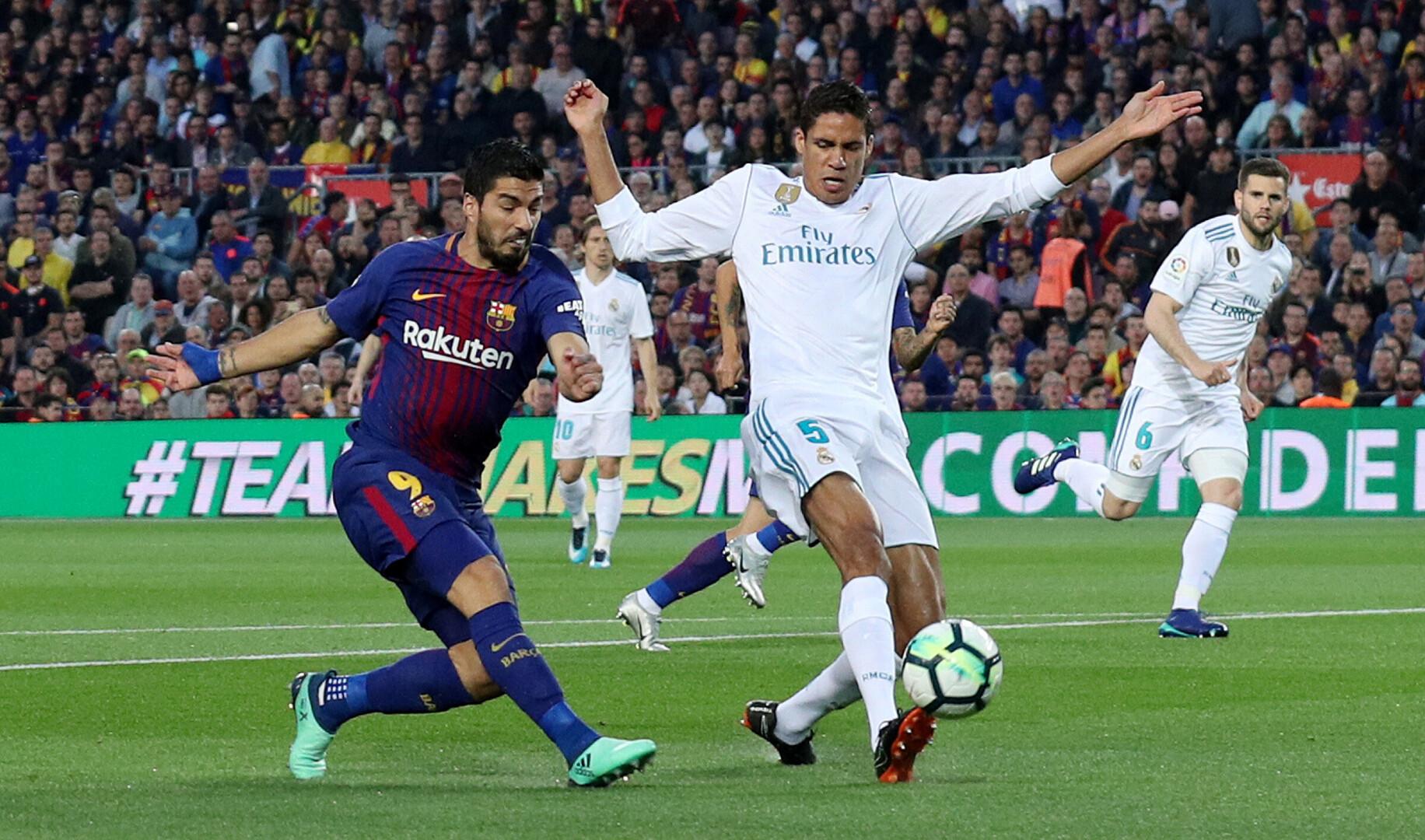 d186a4b7419 Barcelona ja Madridi Reali vaheline Hispaania kõrgliiga kohtumine  Autor/allikas: Reuters/Scanpix. Jalgpall