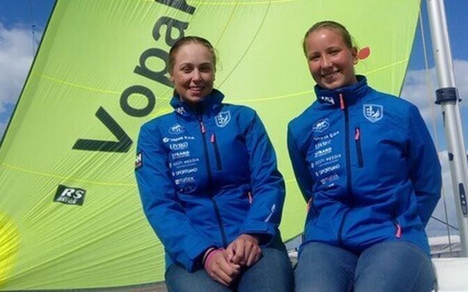 Veronika Kuvatova ja Hannah Tuulas