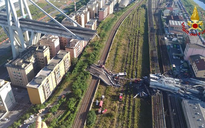 Genova sillavaringus hukkus vähemalt 39 inimest.