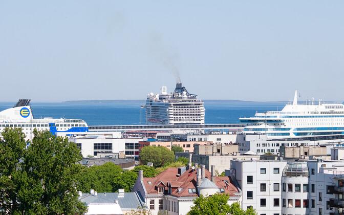 Kruiisilaevad Tallinnas.