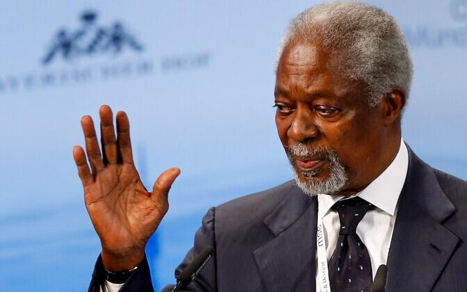 Кофи Аннану было 80 лет.